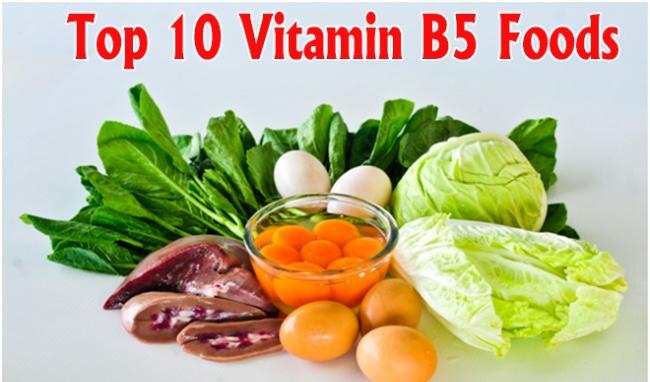 vitamin b5 bổ sung dưỡng chất
