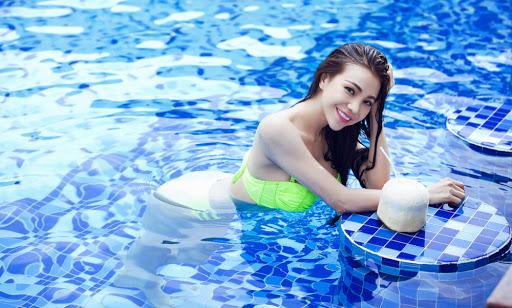 Cách chăm sóc tóc sau khi bơi