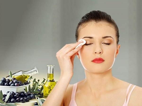 cách làm căng da mặt bầng dầu ô liu