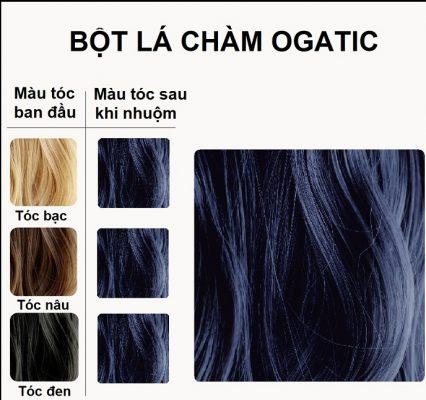 Cách nhuộm tóc bằng lá chàm