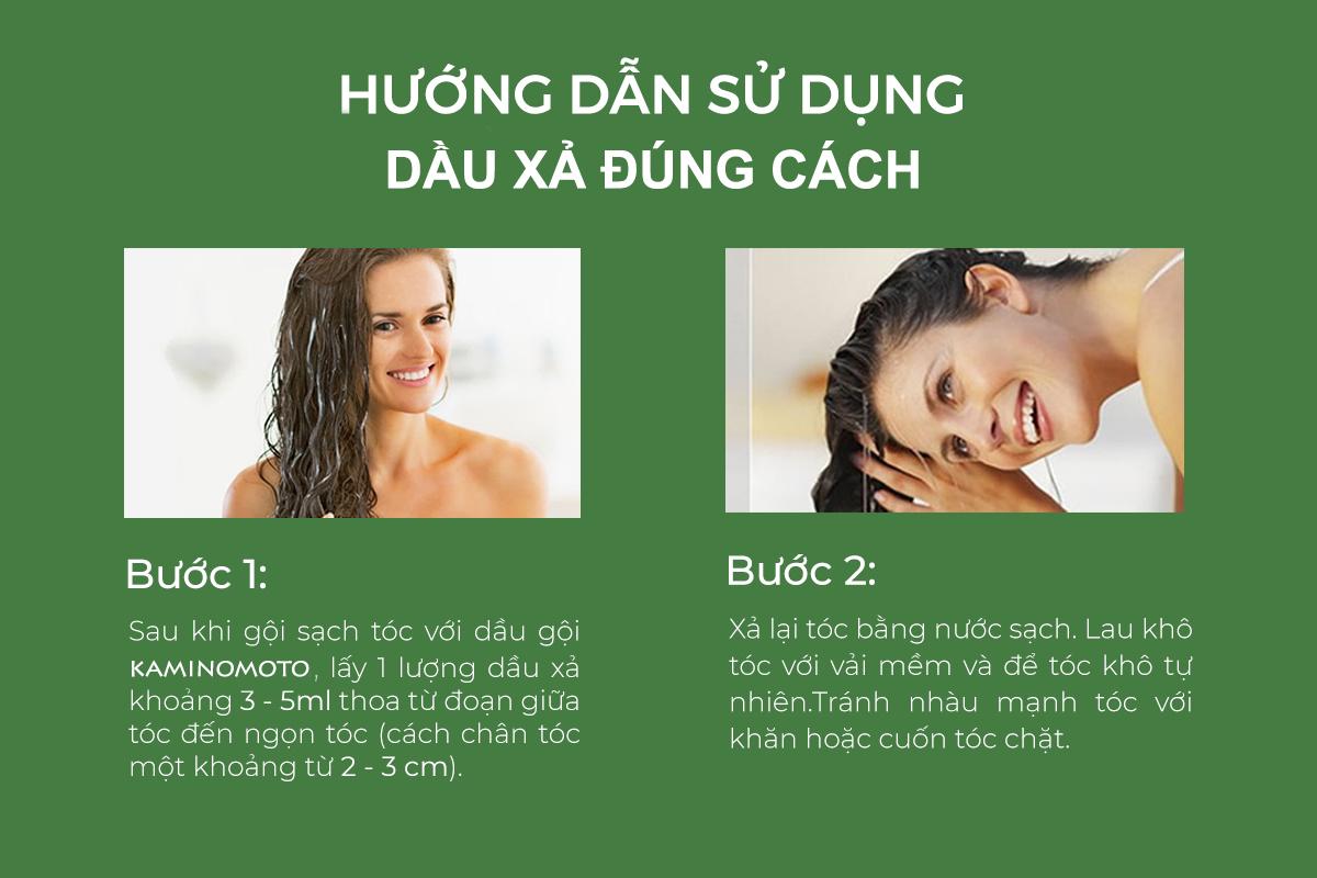 cách sử dụng dầu xả cho tóc