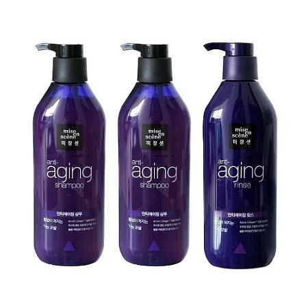 Dầu gội trị rụng tóc Anti Aging