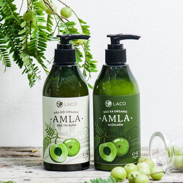 Dầu gội trị rụng tóc thảo dược Amla