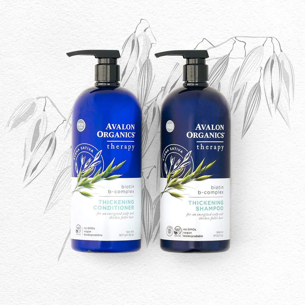 Dầu gội Avalon Organics Thickening Shampoo