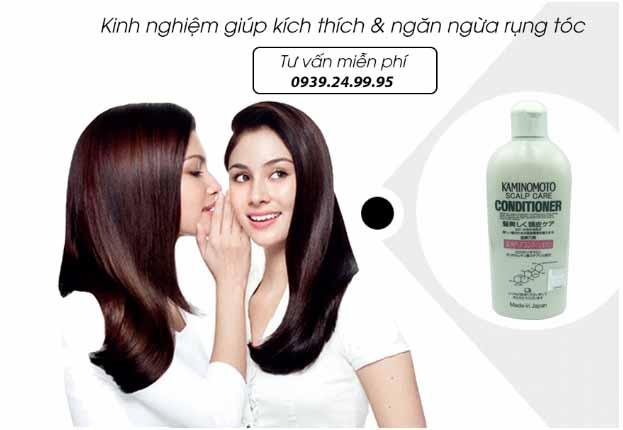 Dầu xả ngăn rụng tóc kaminomoto scalp care