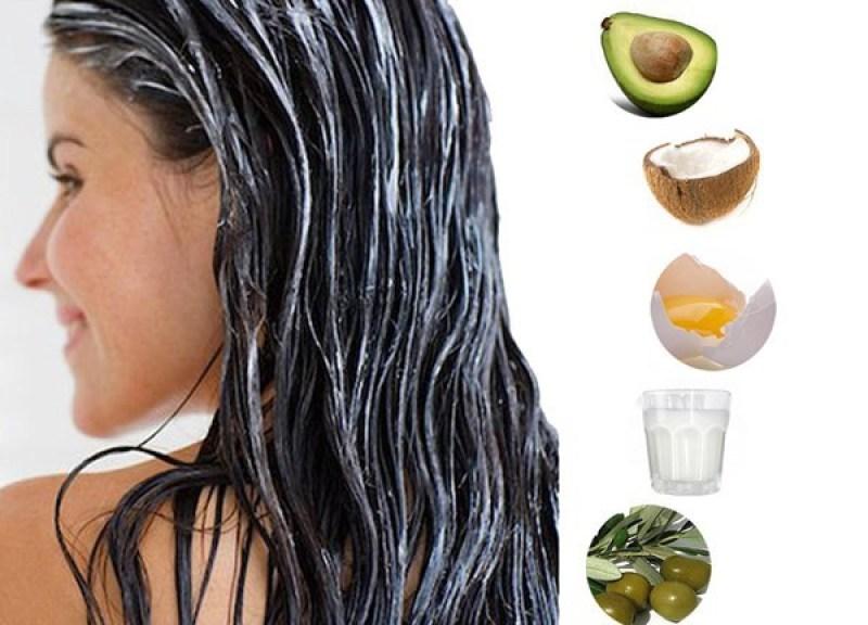 mặt nạ dưỡng tóc cho mùa hè