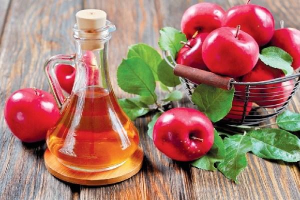 giấm táo kết hợp mật ong