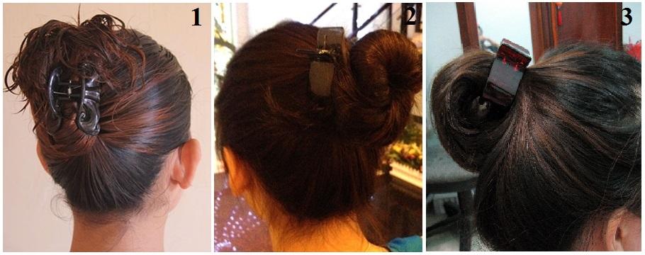 làm xoăn tóc bằng kẹp càng cua