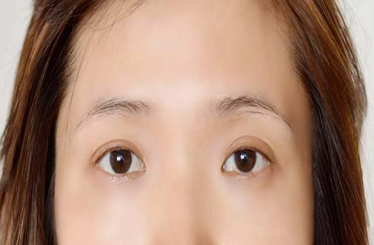 lông mày nhạt