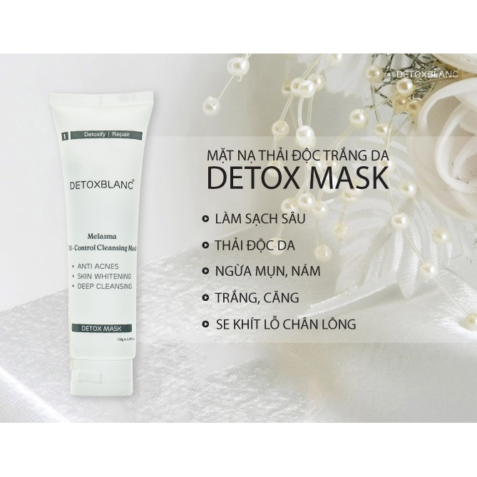 Mặt nạ sủi bọt Detox Mask BlanC