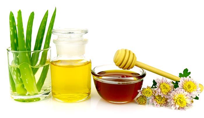 nha đam mật ong
