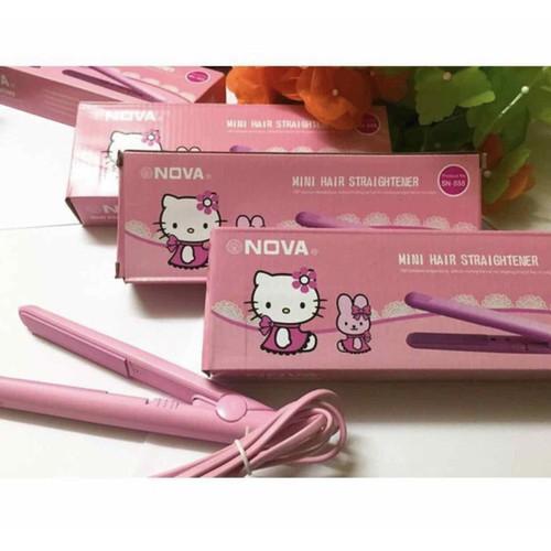 Máy duỗi tóc mini Nova Hello Kitty
