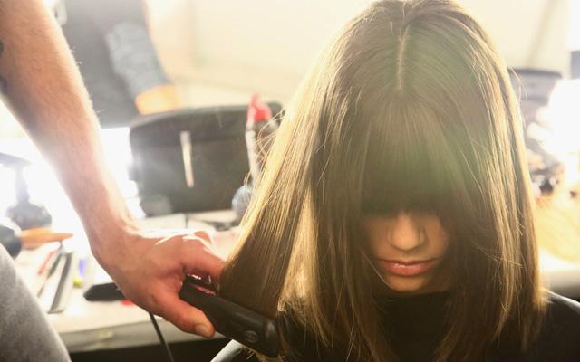 Mới duỗi tóc có được gội đầu