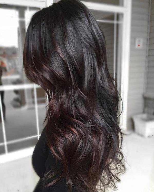 Nhuộm tóc màu tối