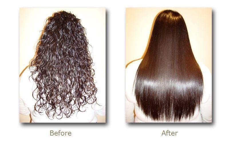 Quy trình duỗi tóc thẳng