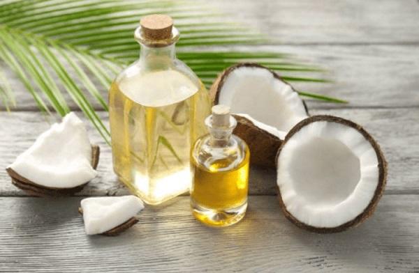 ngăn rụng tóc từ dầu dừa