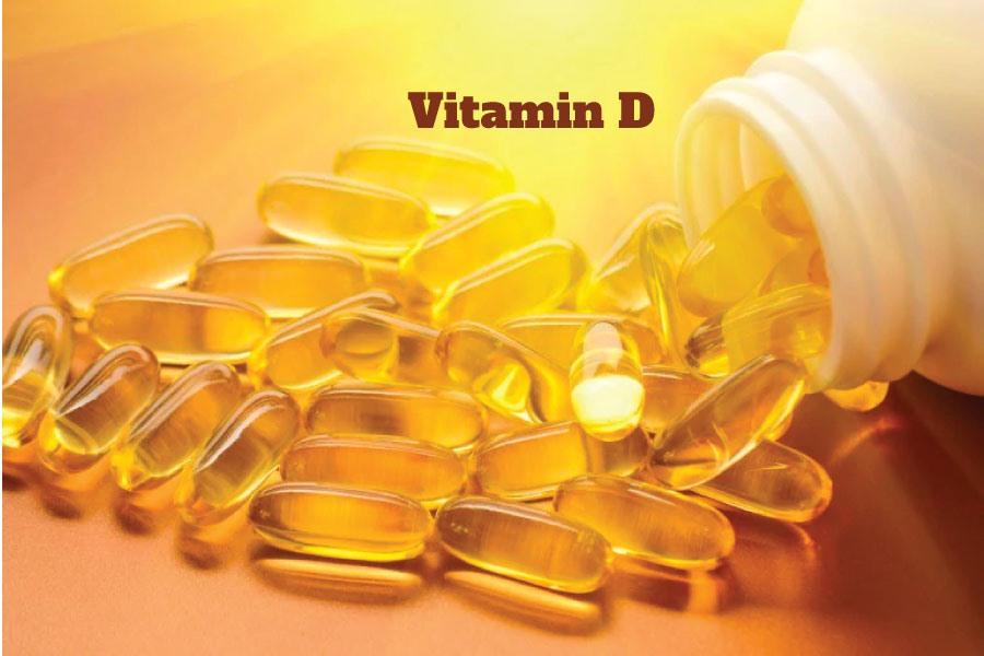 thiếu vitamin D gây rụng tóc