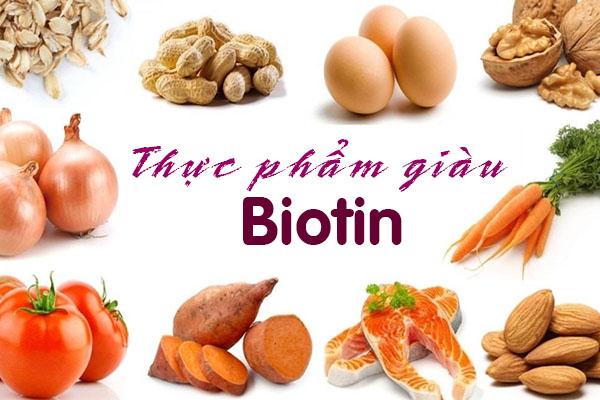 Những loại thực phẩm nào chứa Biotin?
