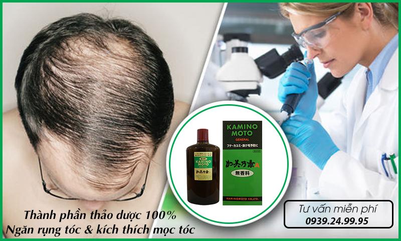 Bộ thuốc đặc trị rụng tóc Kaminomoto General