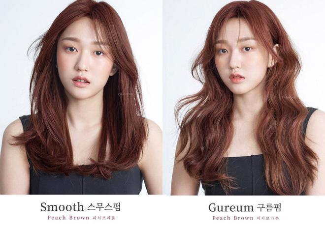 tóc màu nâu đỏ ánh đồng