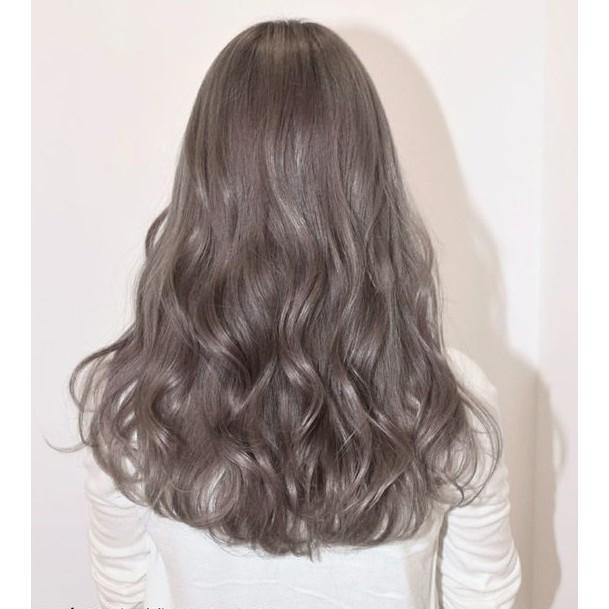 tóc màu xám tro
