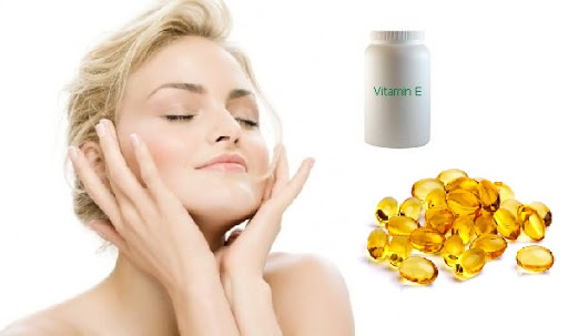 Trị sẹo thâm tại nhà vitamin E
