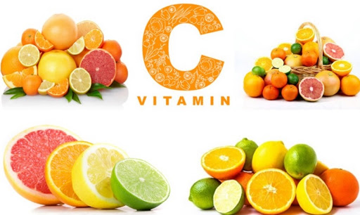 vitamin c chữa da sần sùi